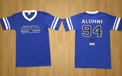 Hampton University Screen Print
