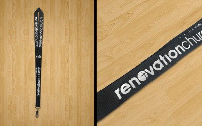 Renovation Church Lanyard Screen Print